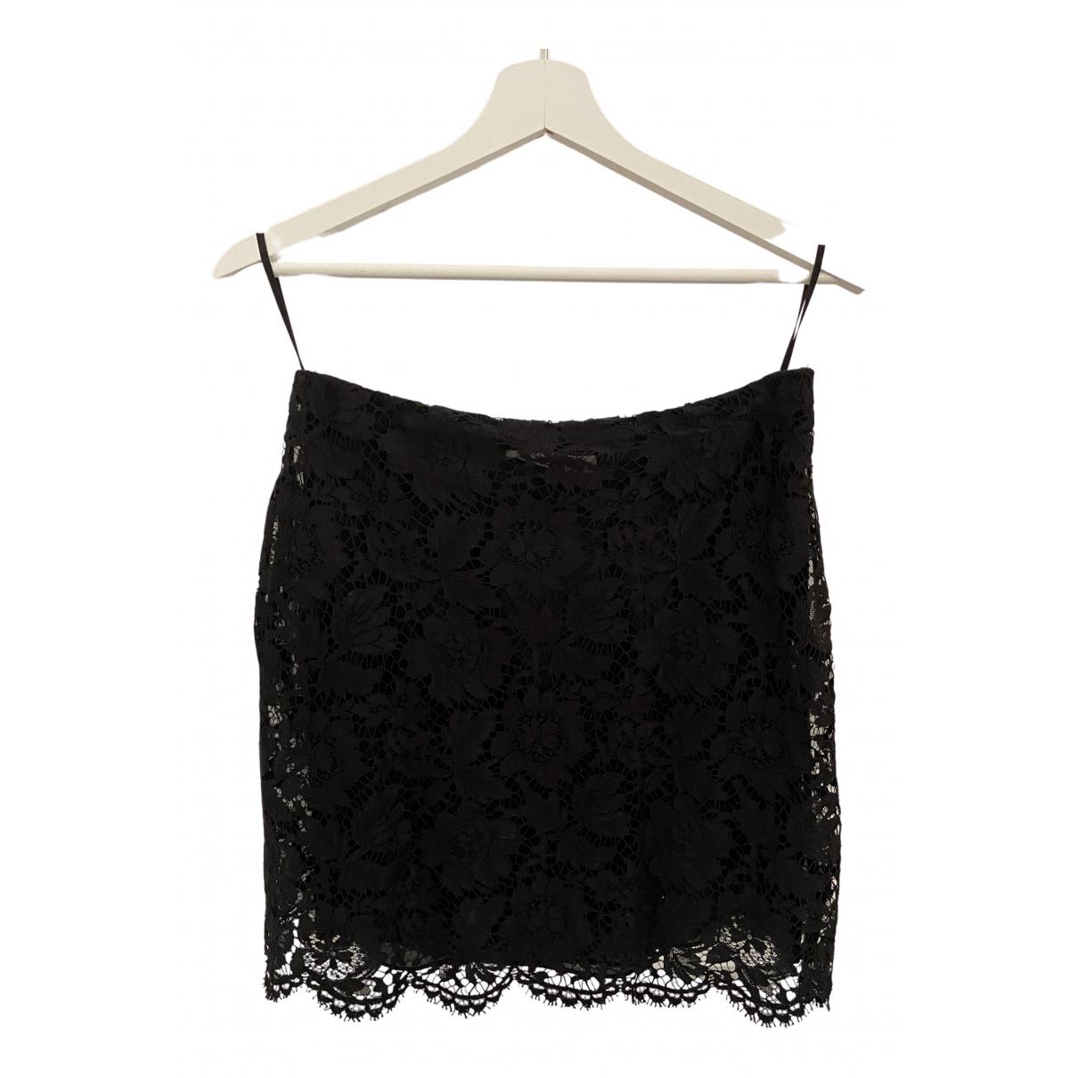 Valentino Garavani N Black Cotton skirt for Women 42 IT