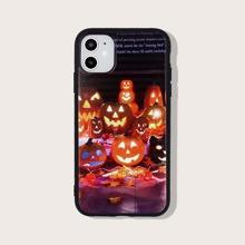 Funda de iphone con patron de halloween