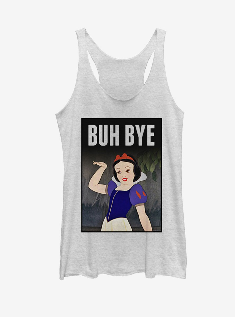 Disney Snow White And The Seven Dwarfs Bye Womens Tank Top