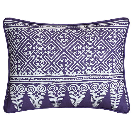 Chic Home Grand Palace Throw Pillow, One Size , Purple