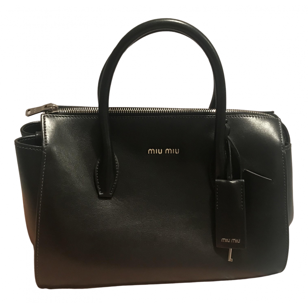 Miu Miu \N Black Leather handbag for Women \N