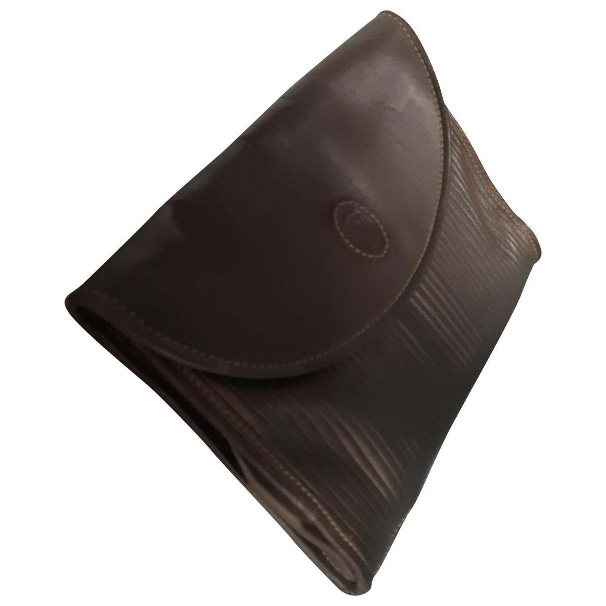 Trussardi \N Green Leather Travel bag for Women \N