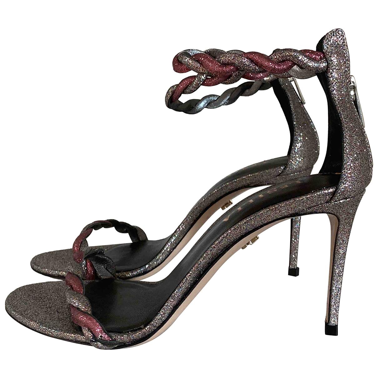 Sandalias de Cuero Le Silla