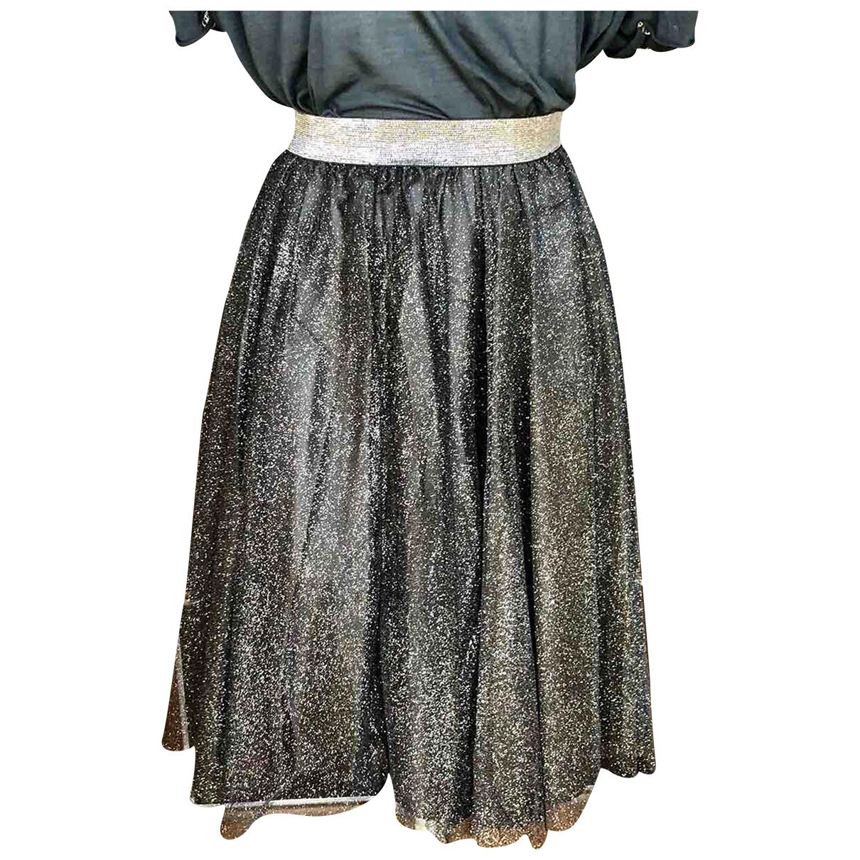 Zara \N Rocke in  Metallic Polyester