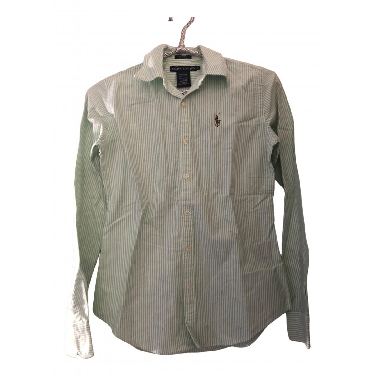 Ralph Lauren \N Green Cotton  top for Women 34 FR