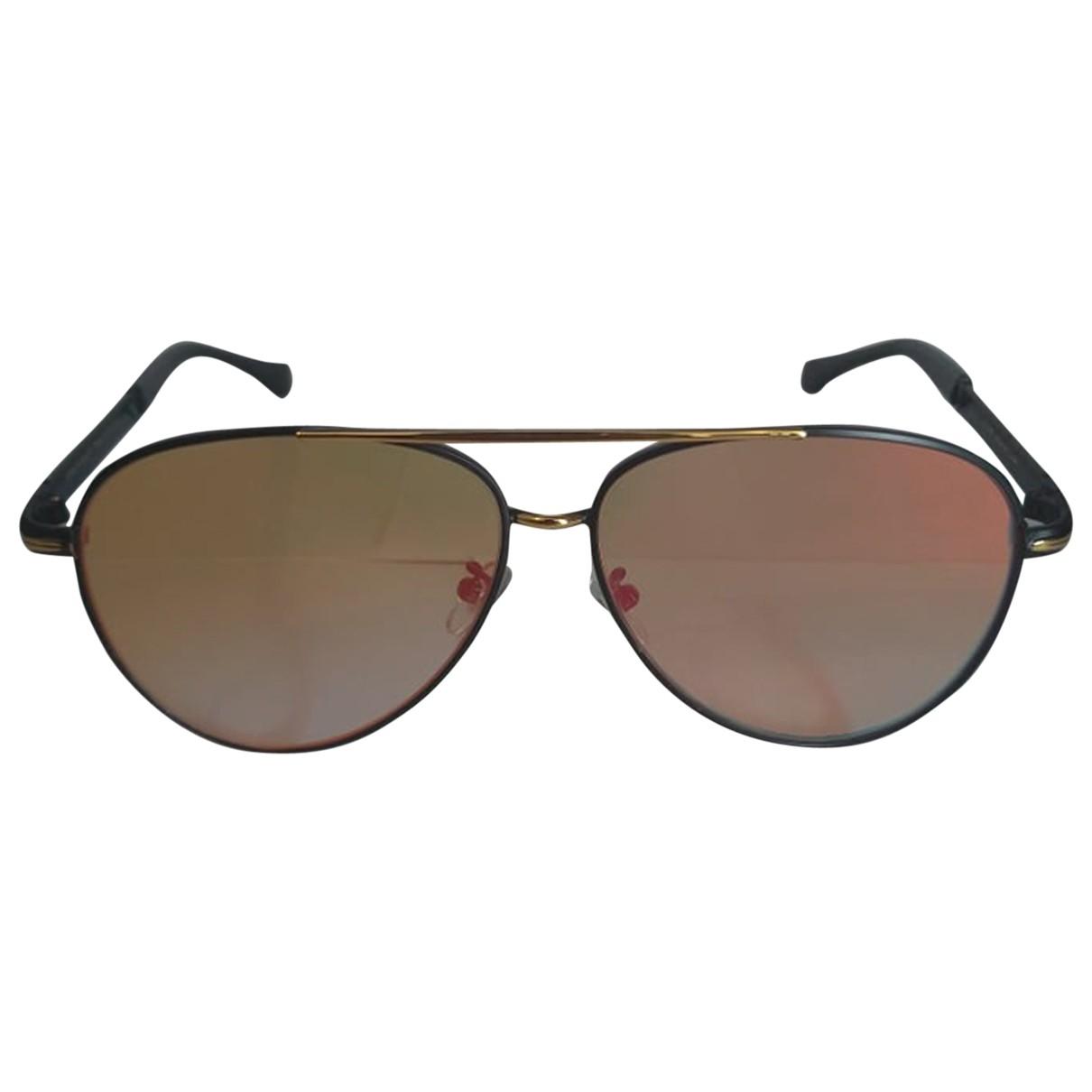 Porsche Design \N Sonnenbrillen in  Schwarz Metall
