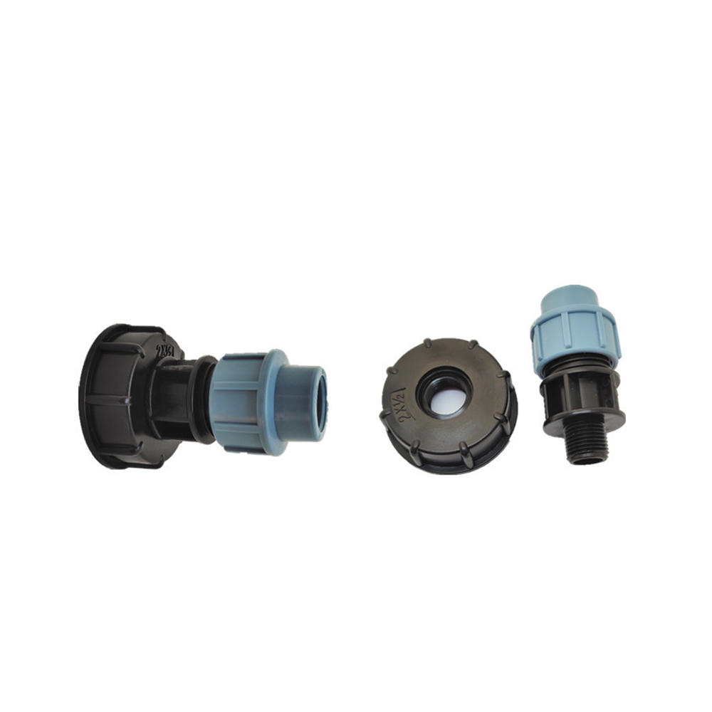 S60x6 IBC Ton Barrel Water Tank Valve Connector 20/25/32mm Straight Outlet Adapter Barrels Fitting Parts