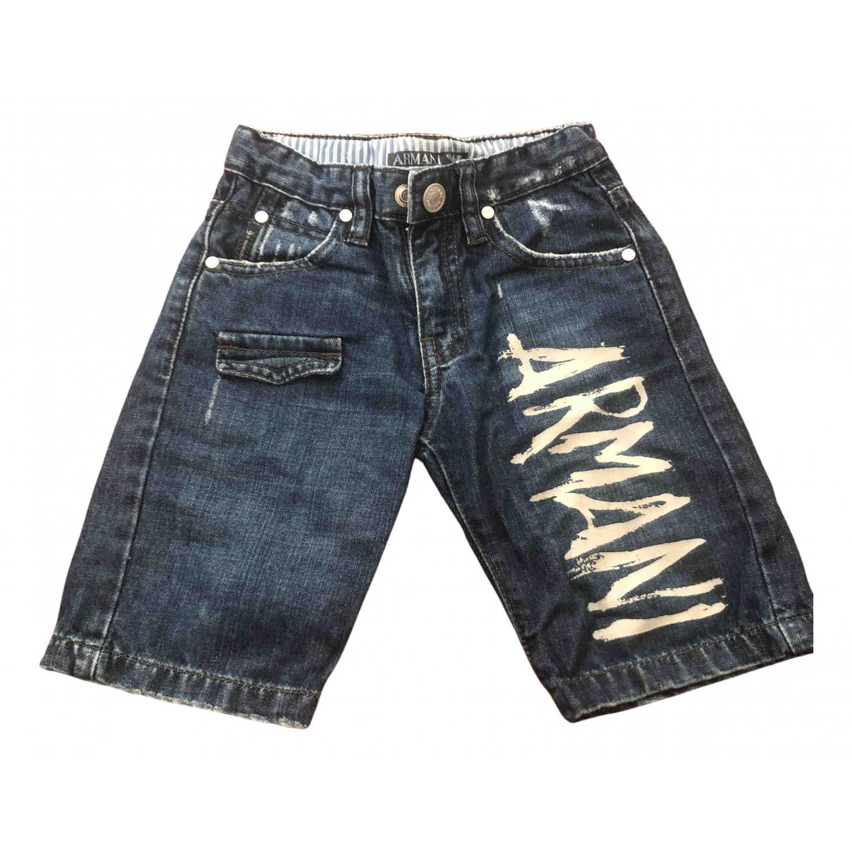 en Denim - Vaquero Azul Armani Jeans