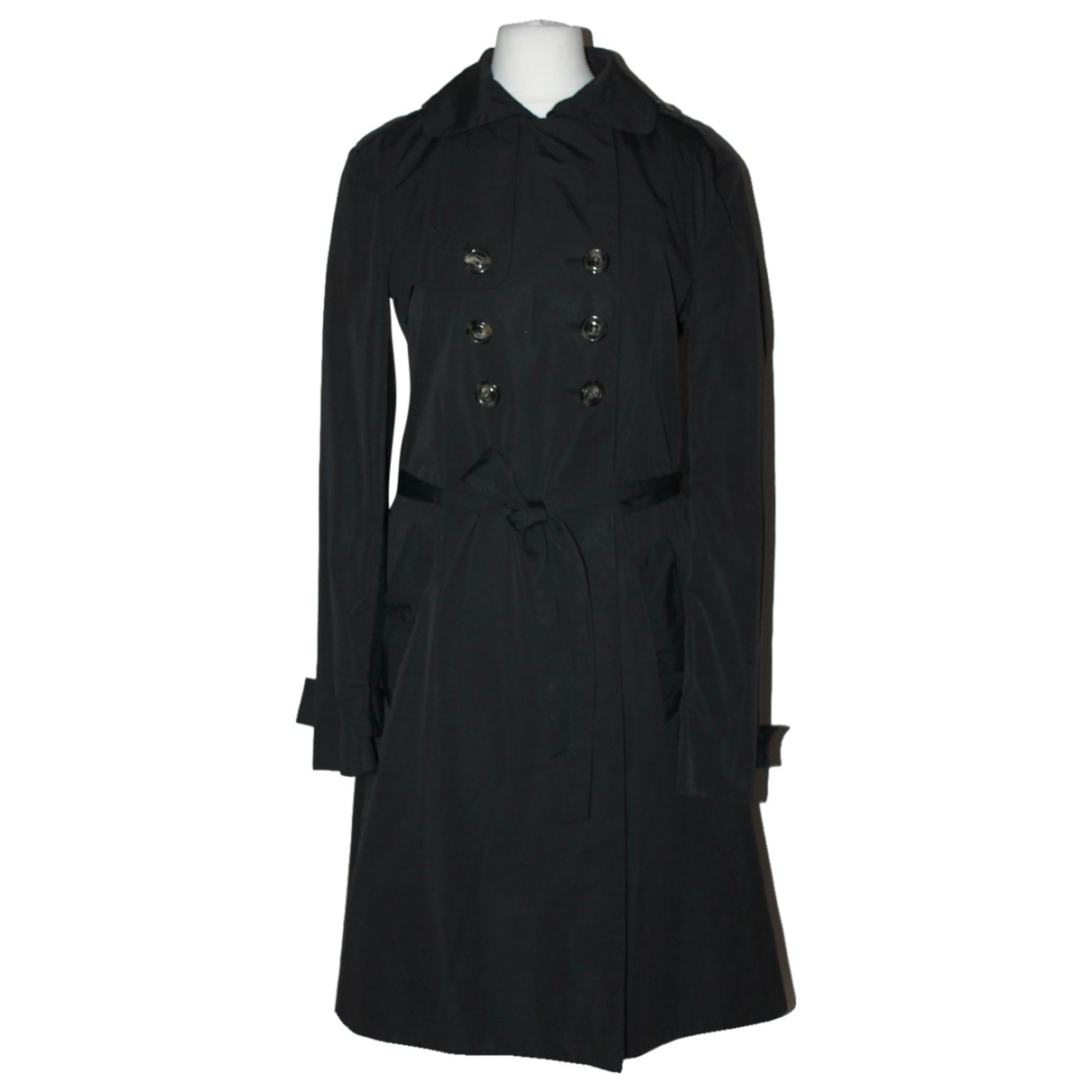 Joseph \N Black Cotton coat for Women 40 FR