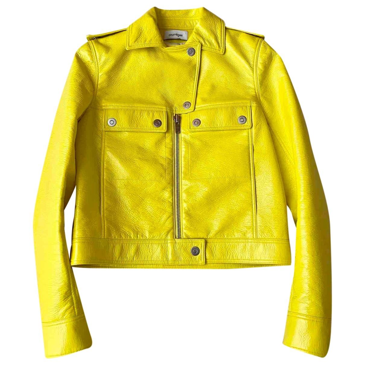 Courreges - Veste   pour femme - jaune