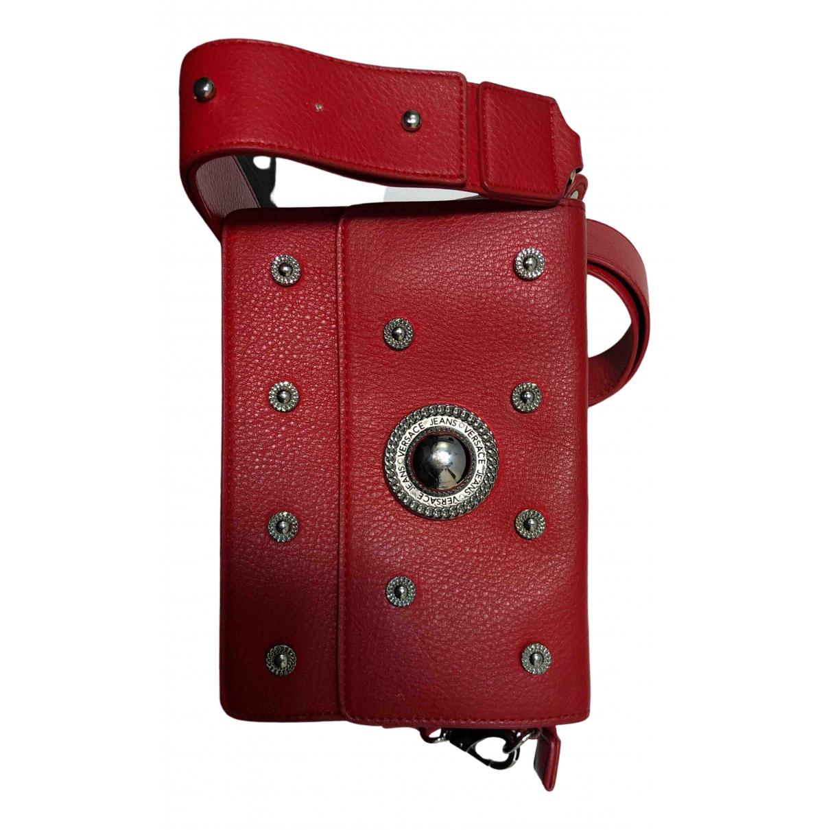 Versace Jeans \N Handtasche in  Rot Synthetik