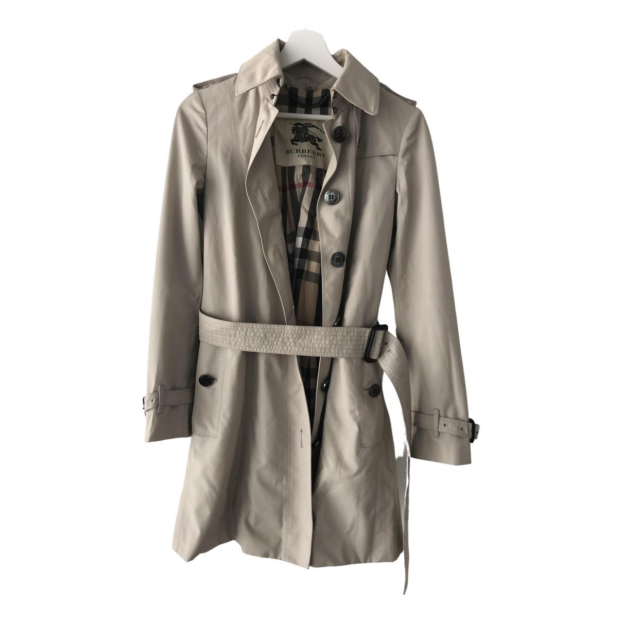 Burberry \N Beige Trench coat for Women 4 UK
