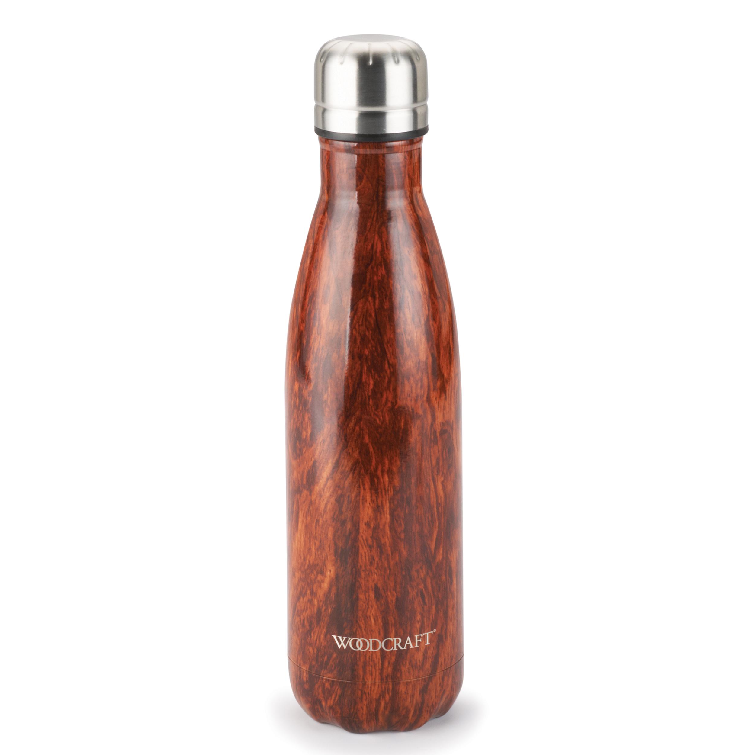 Woodcraft Woodgrain 17-ounce Water Bottle