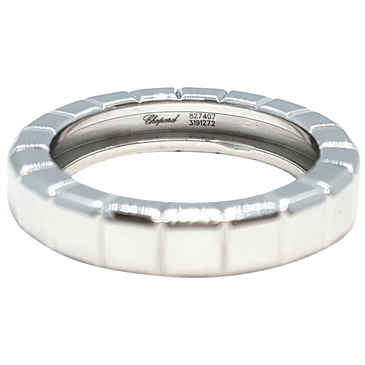 Chopard Ice Cube Silver White gold ring for Women 53 EU