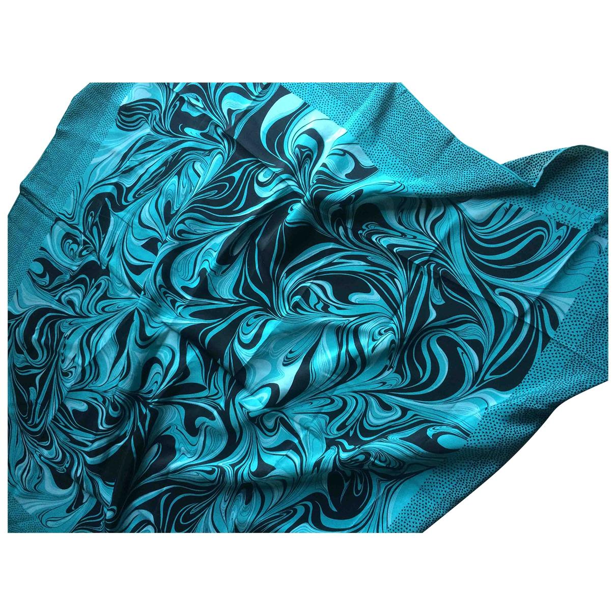 Gianni Versace \N Green Silk scarf for Women \N