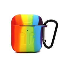 Rainbow Pattern AirPods Case