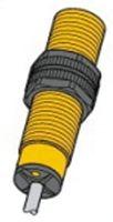 Turck M18 x 1 Inductive Sensor - Barrel, PNP-NO Output, 12 mm Detection, IP68, Cable Terminal