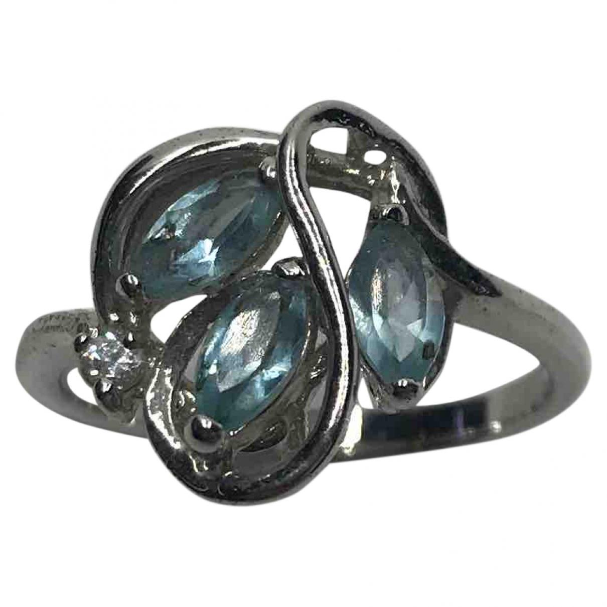 Diamonds & You - Bague   pour femme en metal - bleu