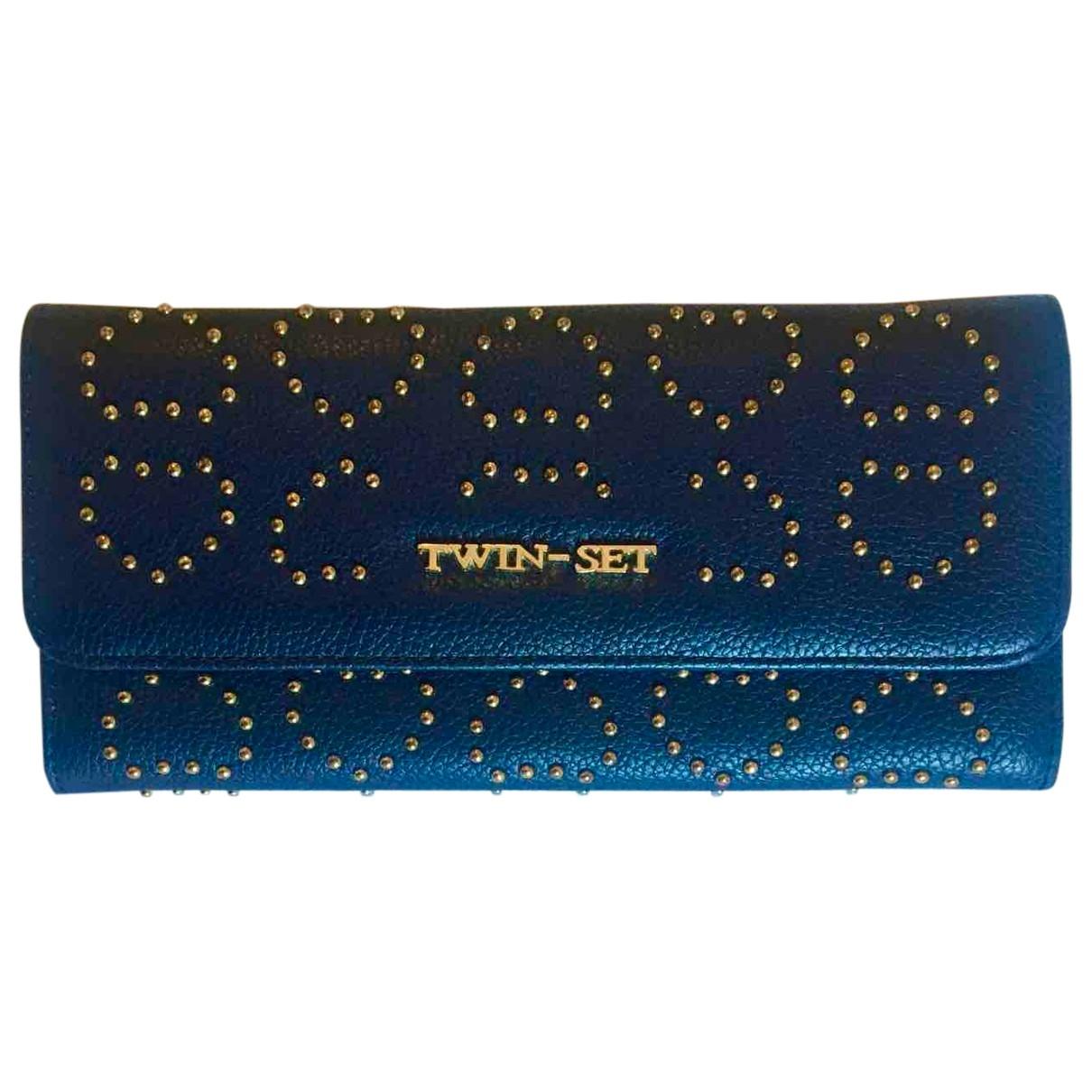 Twin Set \N Portemonnaie Blau