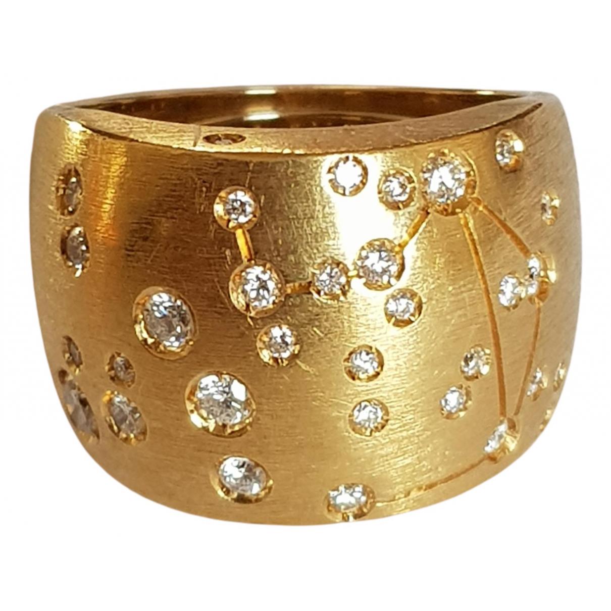 Repossi - Bague   pour femme en or jaune - jaune