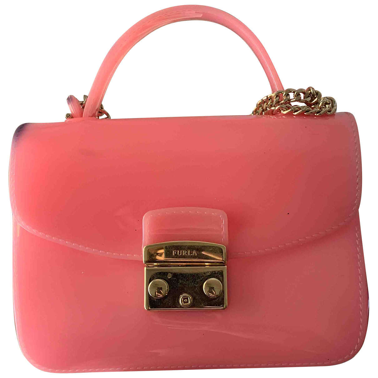 Furla Candy Bag Pink handbag for Women N