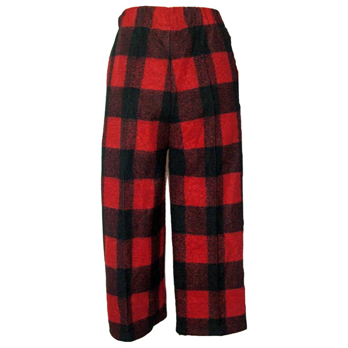Woolrich N Wool Trousers for Women XS International