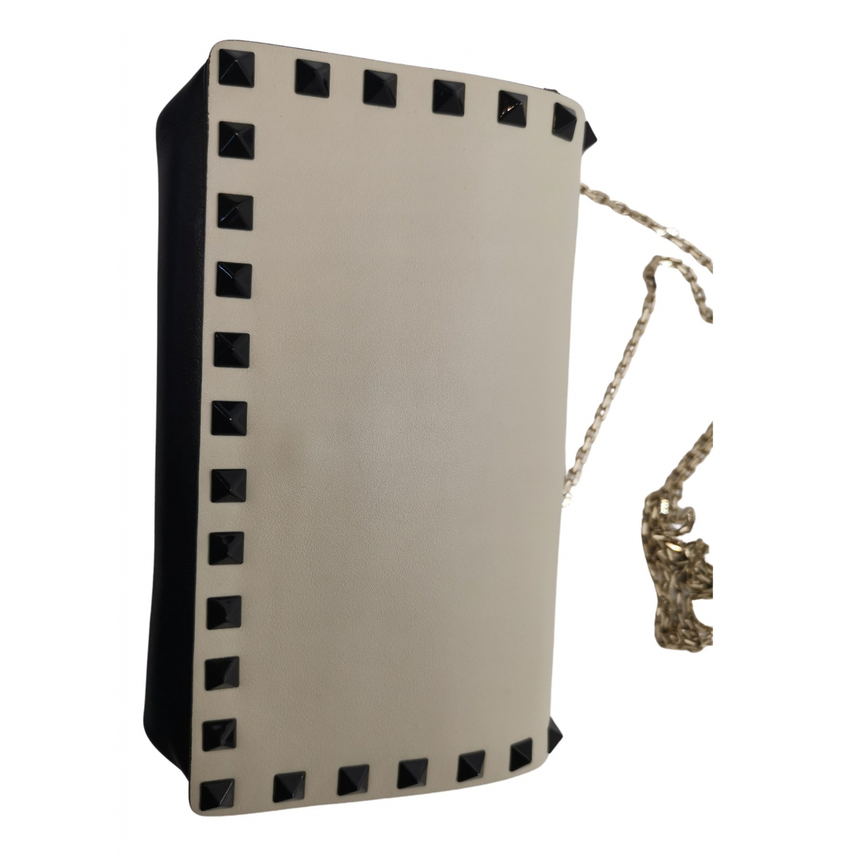 Valentino Garavani Micro Rockstud Beige Leather handbag for Women N