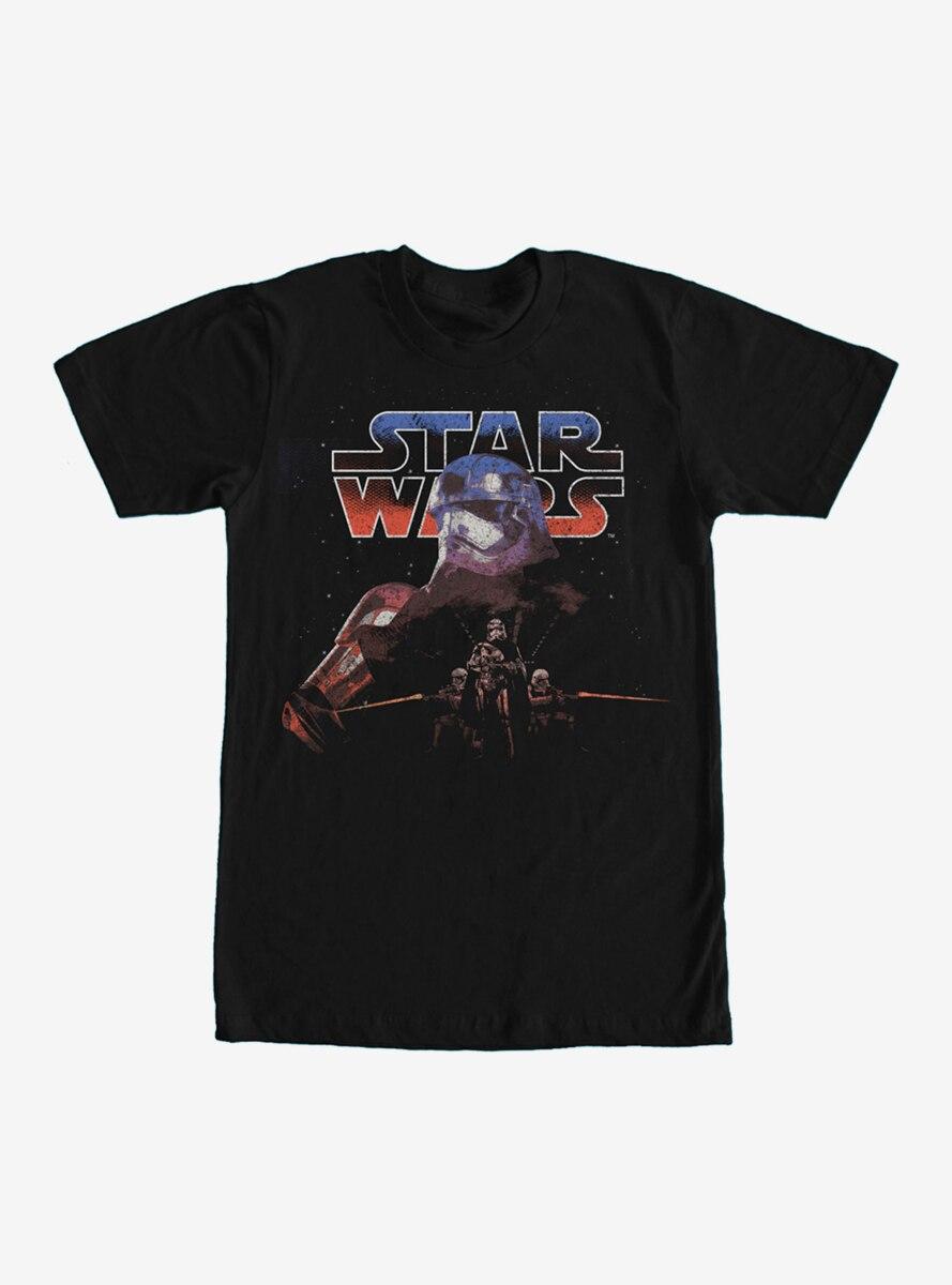 Star Wars Captain Phasma Distressed T-Shirt