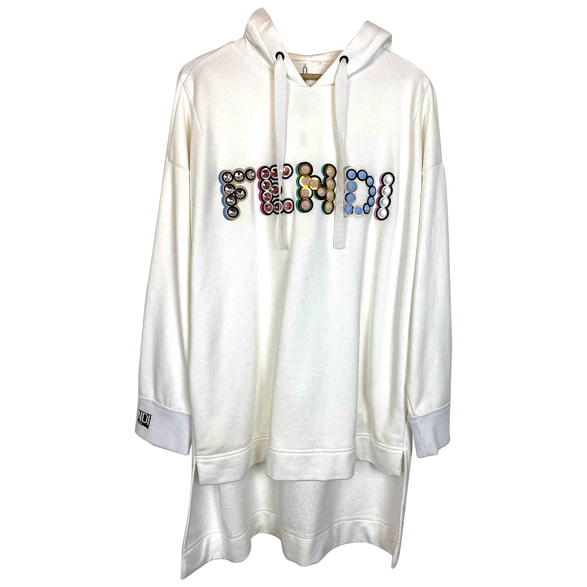 Fendi \N White Cotton  top for Women 44 IT