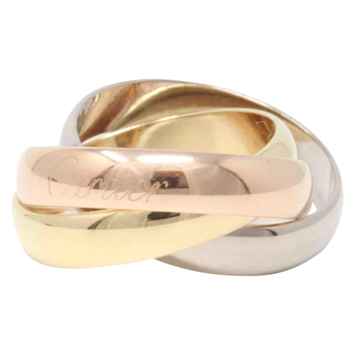 Cartier - Bague Trinity pour femme en or jaune