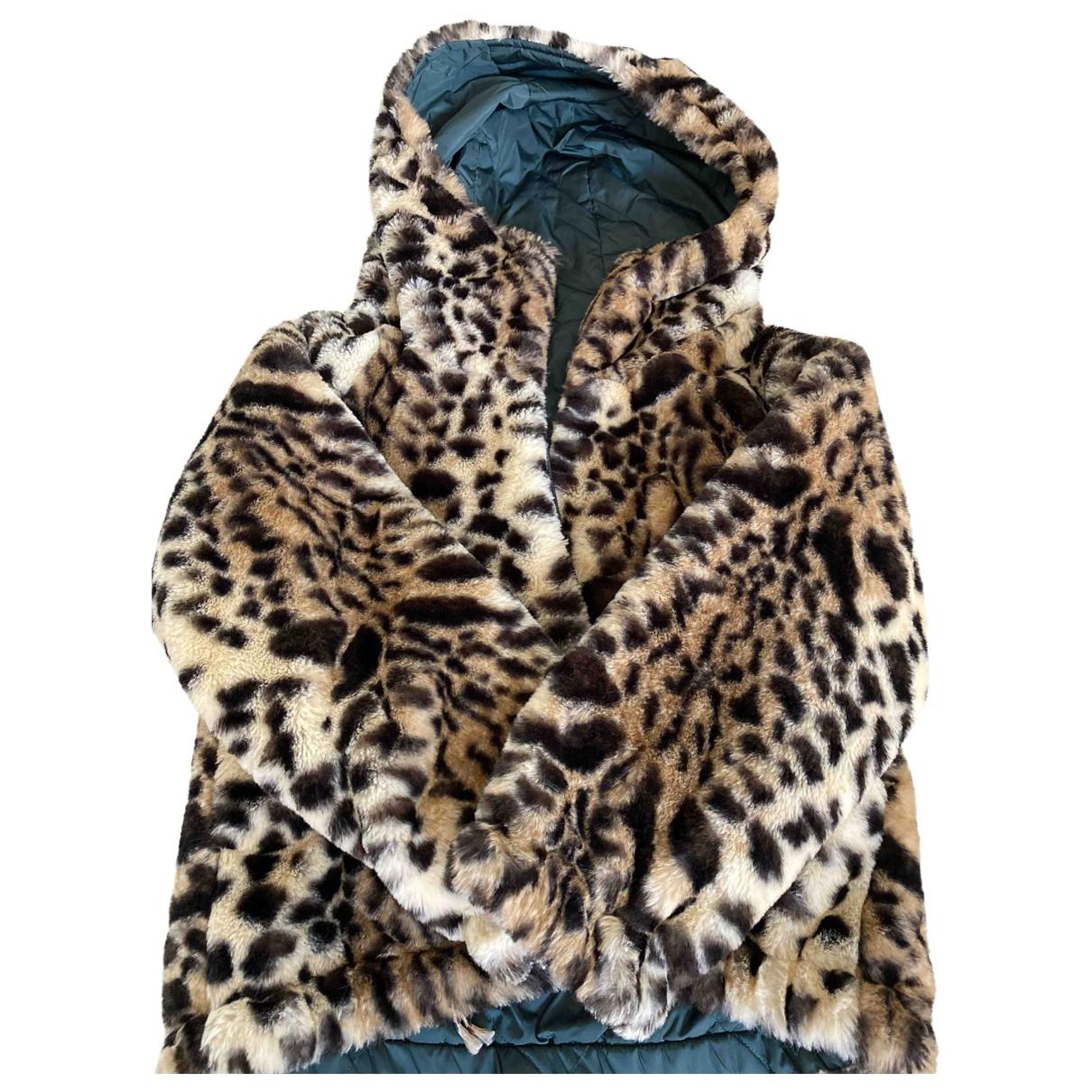 Bellerose - Blousons.Manteaux   pour enfant en fourrure synthetique - multicolore