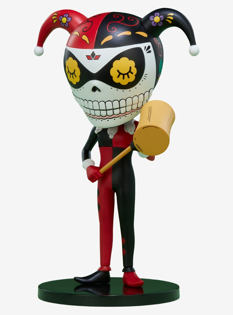 Dc Comics Harely Quinn Calavera Designer Toy By Unruly Industries