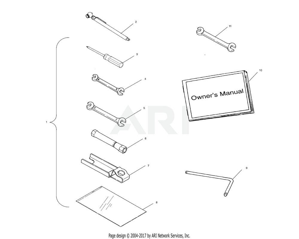 Polaris OEM 2874924 Kit, Tool | [Wrench Handle]