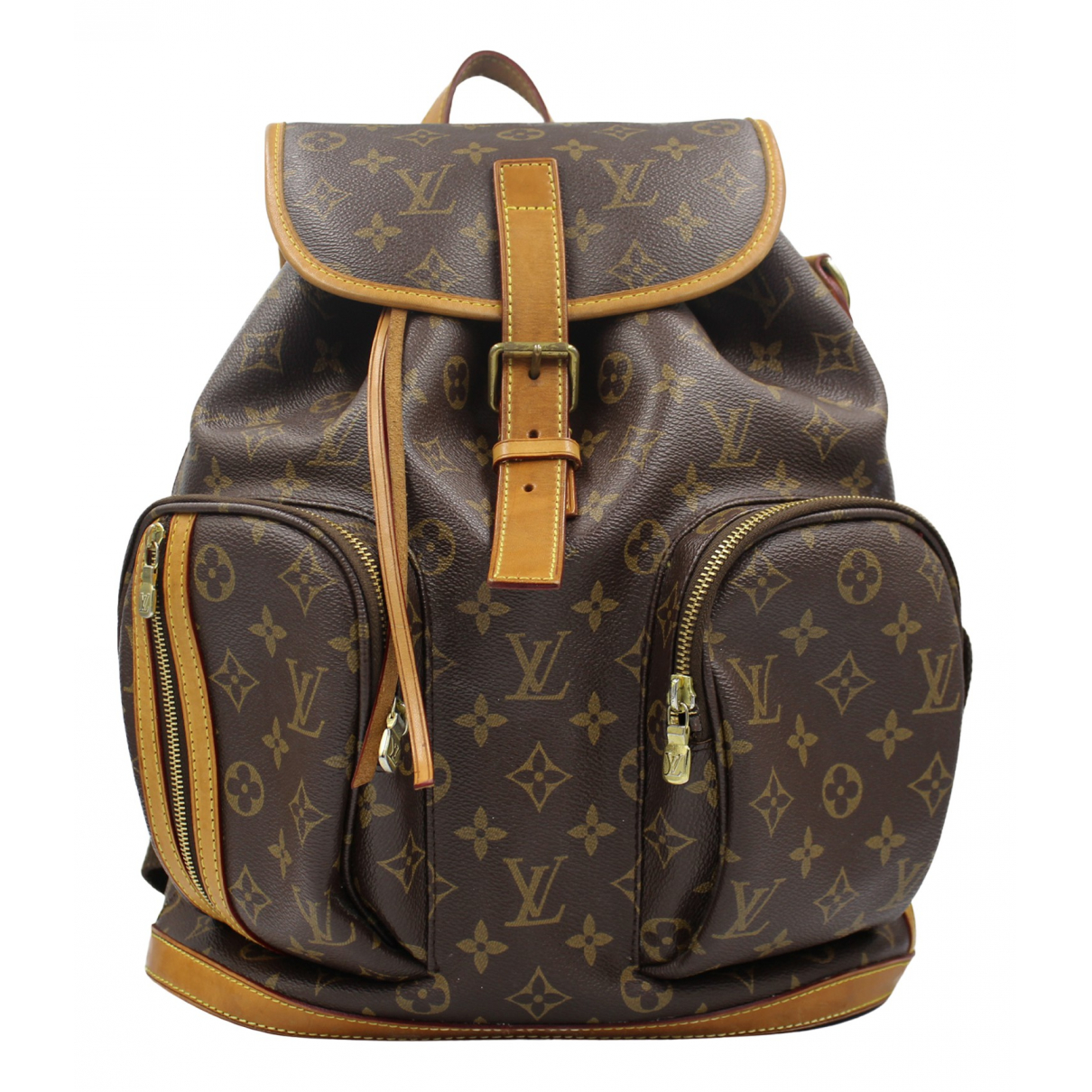 Louis Vuitton - Sac a dos Bosphore Backpack pour femme en toile - marron