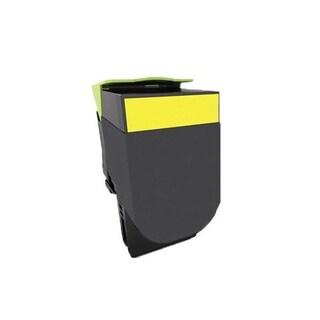 1PK Compatible 71B0020 (71B10C0) Cyan Toner Cartridge for Lexmark CS-317 417 517 (Pack of 1) (Yellow)