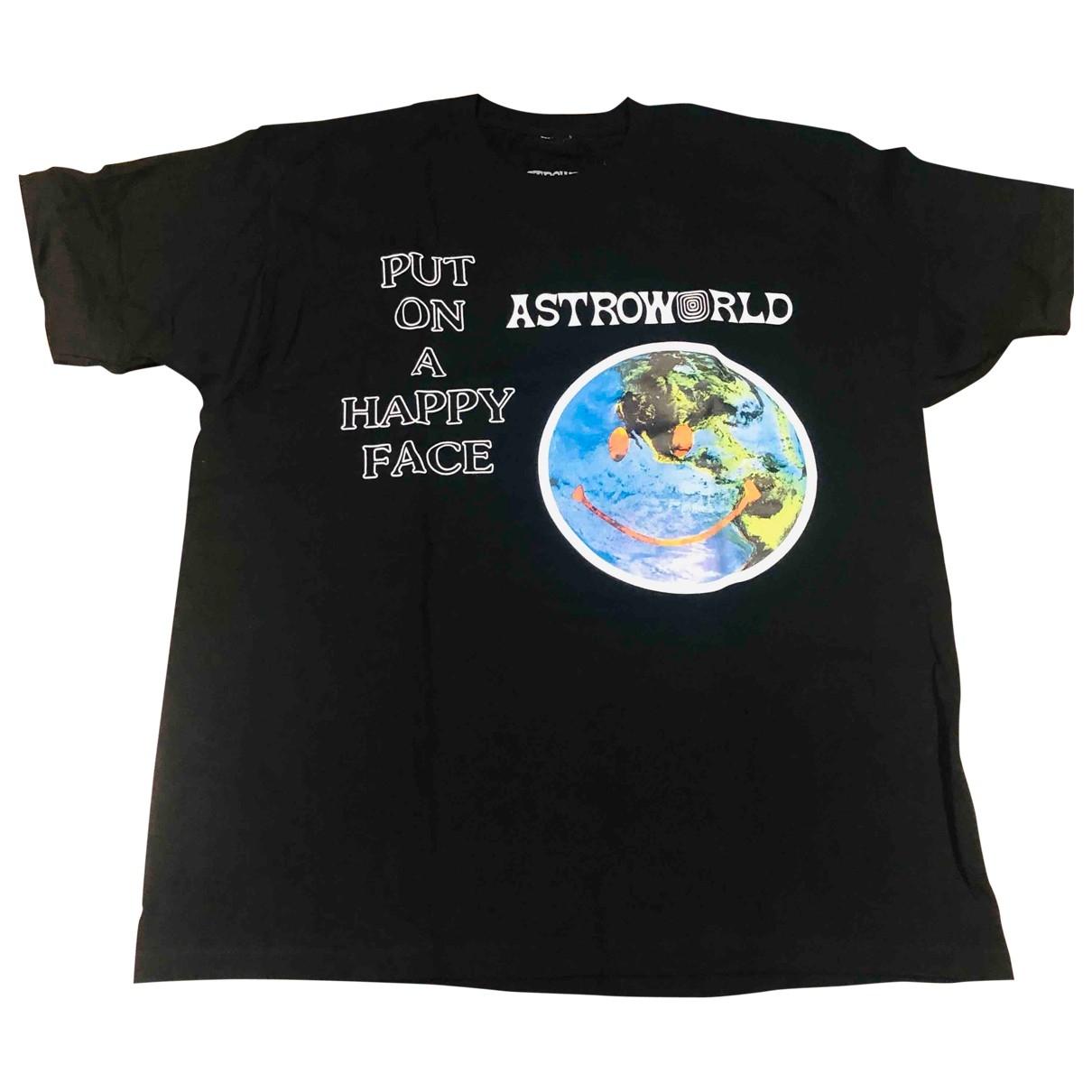 Travis Scott \N T-Shirts in  Schwarz Baumwolle