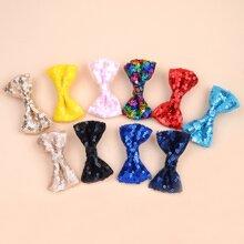 10 Stuecke Kleinkind Maedchen Haarspangen mit Pailletten Dekor