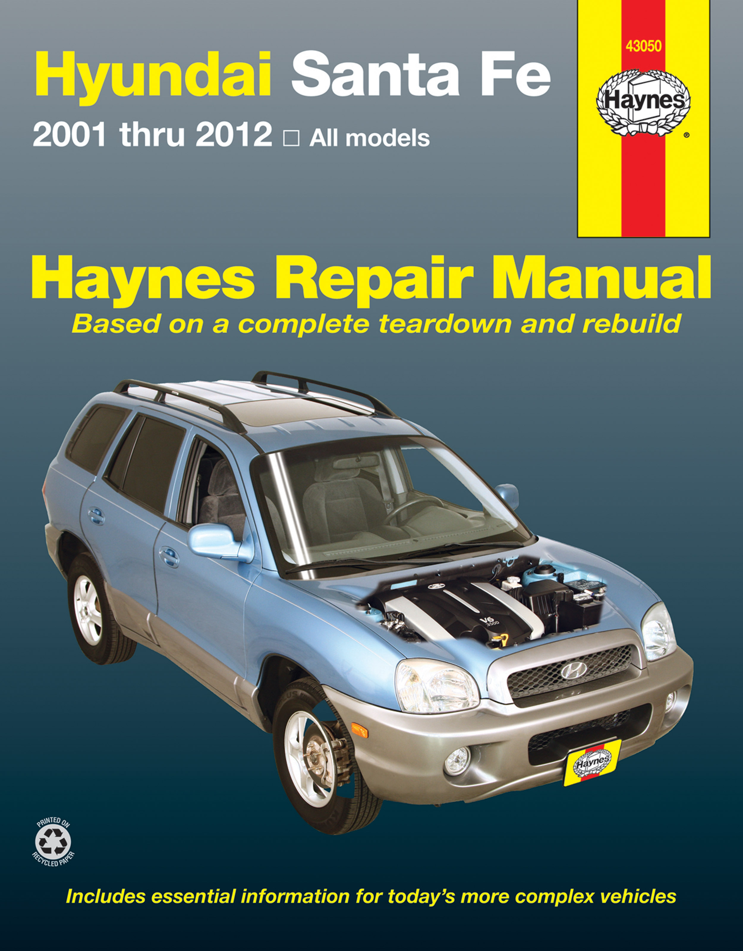Hyundai Sante Fe (01-12) Haynes Repair Manual