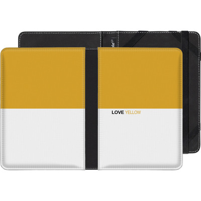 Sony Reader PRS-T1 eBook Reader Huelle - LoveYellow von caseable Designs