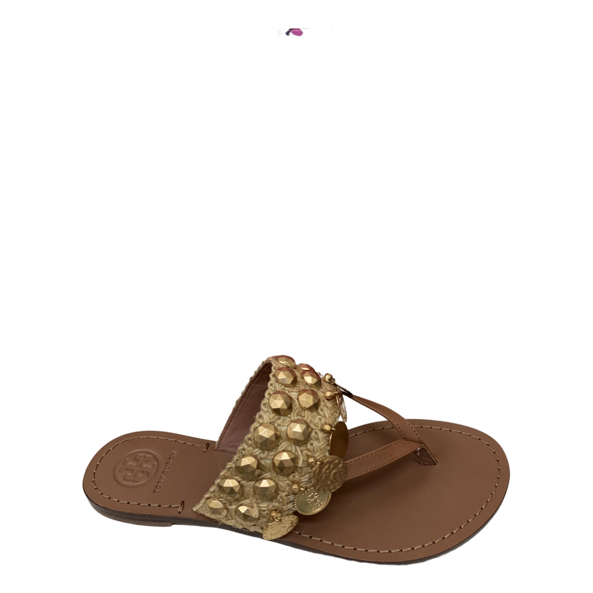 Tory Burch \N Brown Leather Sandals for Women 7 US