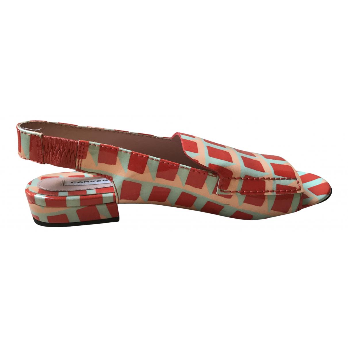 Carven - Sandales   pour femme - multicolore