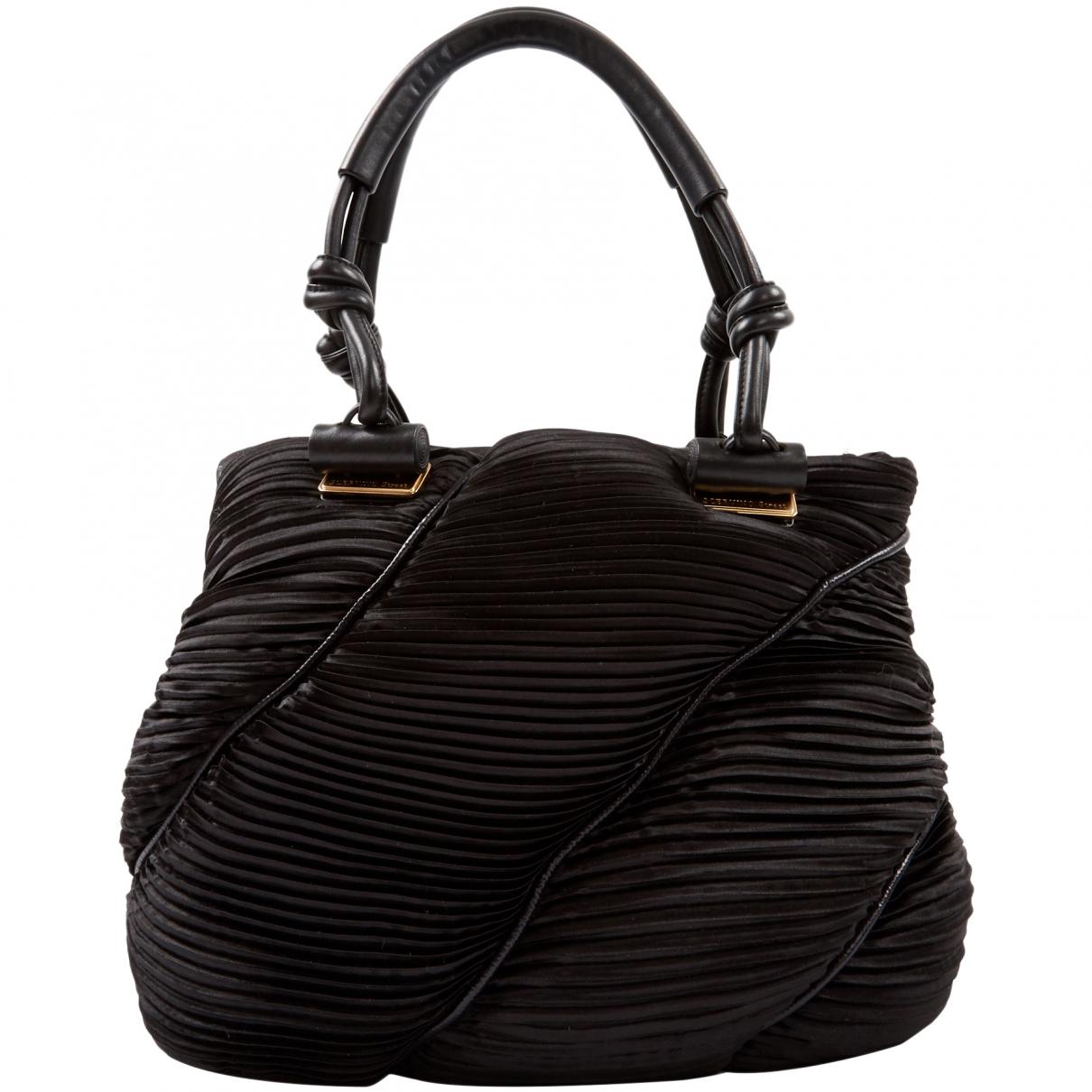 Ermanno Scervino \N Black Cloth Shoulder bag for Women \N