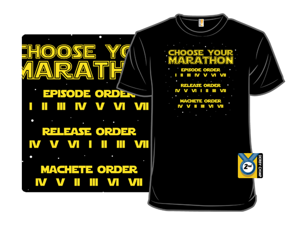 Choose Your Marathon T Shirt
