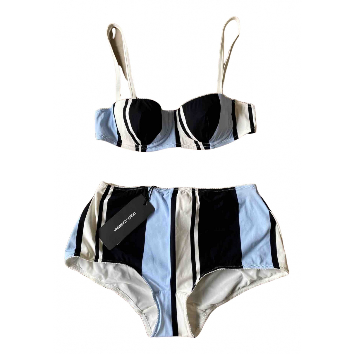 Dolce & Gabbana \N Badeanzug in  Blau Polyester