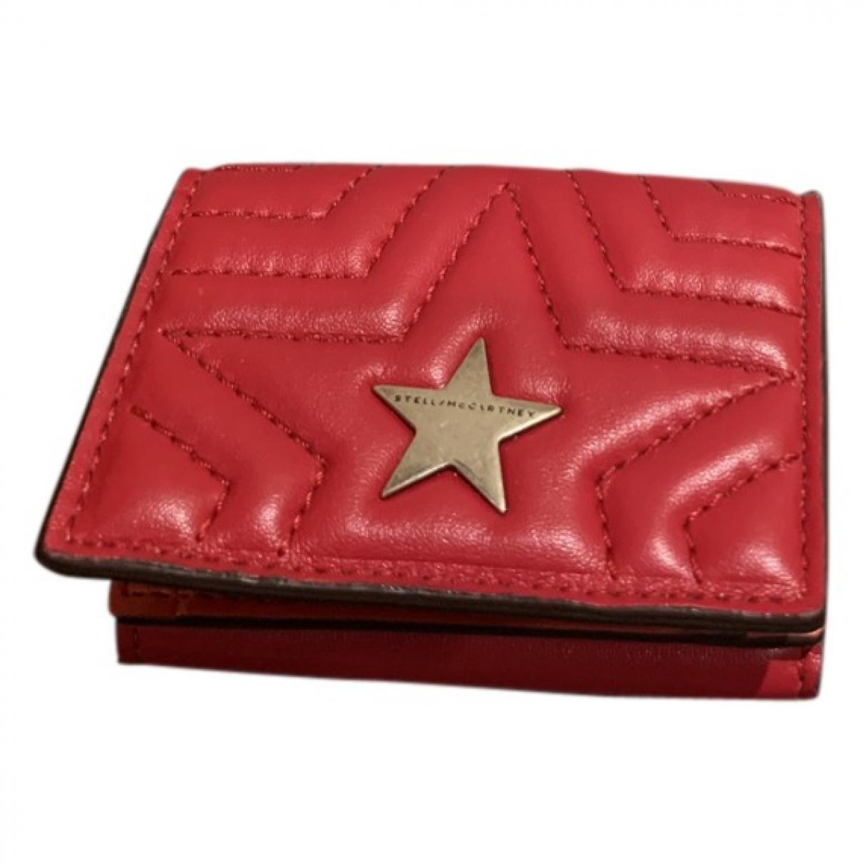 Stella Mccartney - Portefeuille   pour femme - rouge