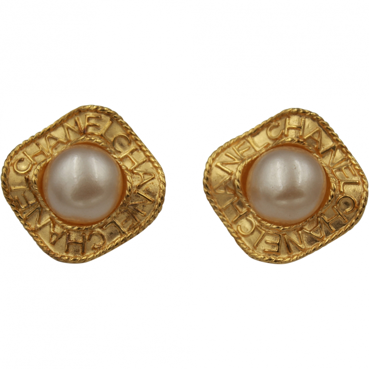 Chanel \N Gold Gold plated Earrings for Women \N