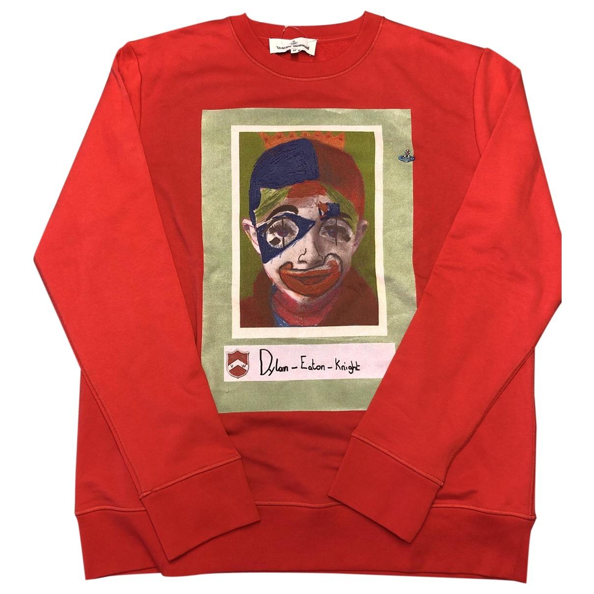 Vivienne Westwood \N Red Cotton Knitwear & Sweatshirts for Men M International