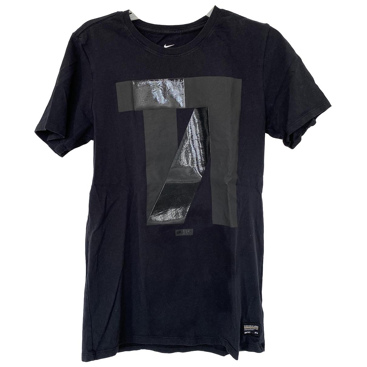 Nike \N T-Shirts in  Schwarz Baumwolle