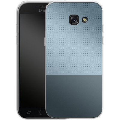 Samsung Galaxy A5 (2017) Silikon Handyhuelle - Dot Grid Blue von caseable Designs