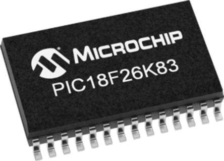 Microchip PIC18LF26K83-I/SP, 8bit 8 bit CPU Microcontroller, PIC18LF, 64MHz, 64 kB Flash, 28-Pin DIP (15)